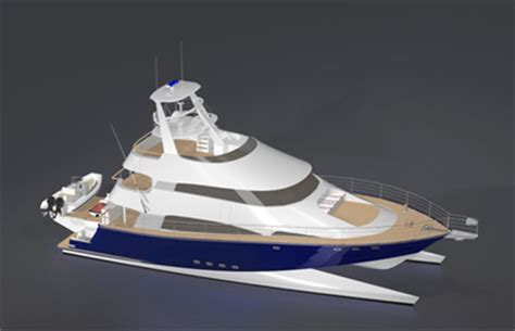 catamaran wave piercing design rmd design two 85 metre superyachts