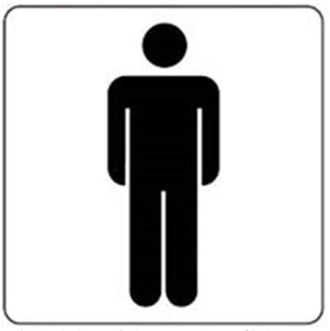 sticker dames heren toilet pictogram toilet heren multishape bv