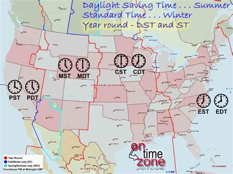 american zone map map of american time zones map travel