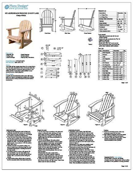 adirondack chair plans images  pinterest