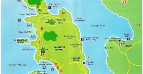 pangkor island resort map k m cheng travel journal