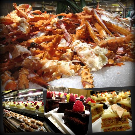 bellagio buffet a tale of seafood sex and soccer
