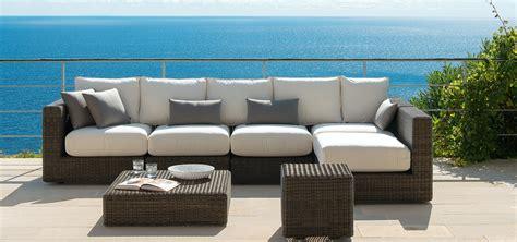 collezione divani divano collezione cube di ethimo arredamento design