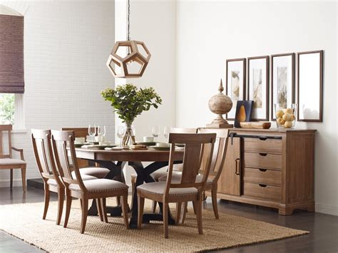 casual dining room tables kincaid furniture stone ridge casual dining room group