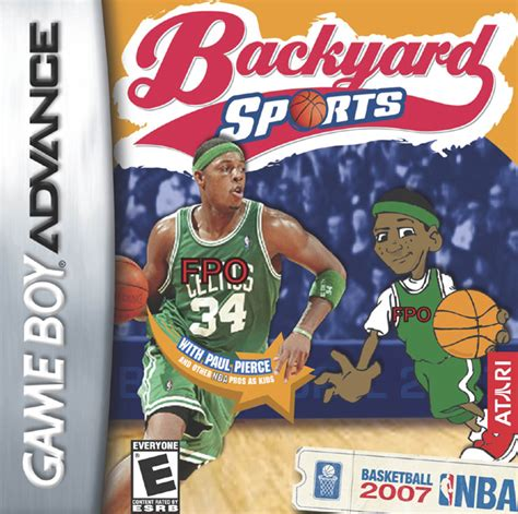 Backyard Baseball 2007 Gba by Backyard Sports Basketball 2007 Box For Boy