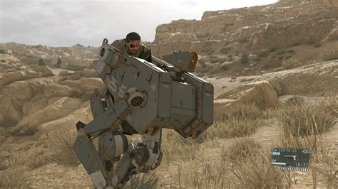 Metal Gear Solid 5 metal gear solid 5 new screenshot shows snake on a mecha