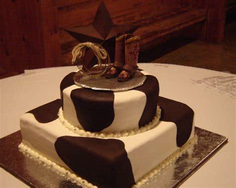 western wedding cake ideas onweddingideas com