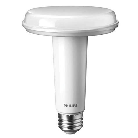 Philips Led Light Bulbs Dimmable Philips Slimstyle 65w Equivalent Soft White 2700k Br30 Dimmable Led Light Bulb 452383 The