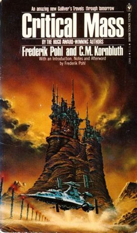 critical mass books critical mass by frederik pohl reviews discussion
