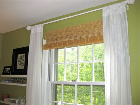 window curtains and blinds ikea bamboo blinds homesfeed
