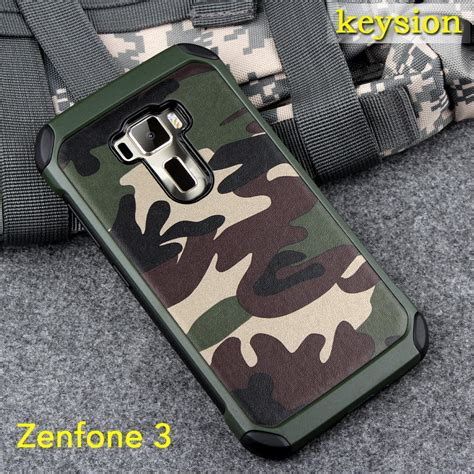 Asus Zenfone 3 Ze520kl 5 2 Anti Knock Slim Hybrid Rugged Armor for asus zenfone 3 ze552kl 2 in1 army camo camouflage pattern pc tpu armor anti knock