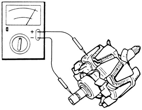 alternator diode stator rotor tester repair guides charging system alternator autozone