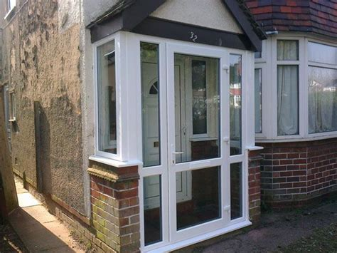 porch front door best 25 upvc porches ideas only on glass