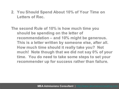 Should You Wait To Get An Mba by Letters Of Recommendation