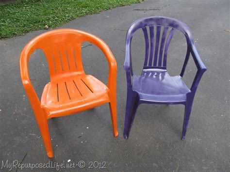 Paint Plastic Chairs - spray paint plastic chairs