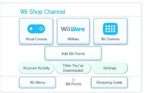 console shops tony s time and the wii shop channel nintendo okie