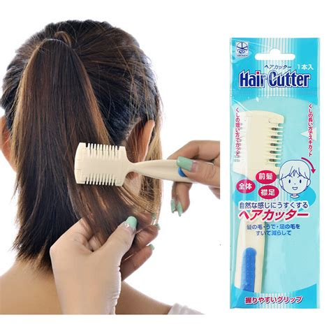 can you use creaclip for short hair 1pcs home diy cut hair thinning slim trimmer comb hair