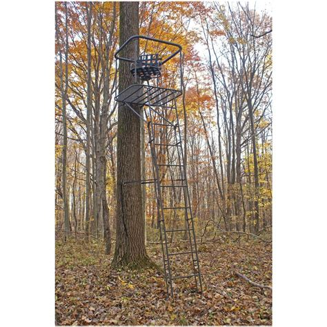 Swivel Tree Stand - family tradition swivel seat ladder stand 144057 ladder