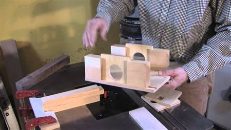 tenons  square stock jig woodworking jigs