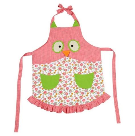 pattern for owl apron owl child size apron child pinterest so cute little