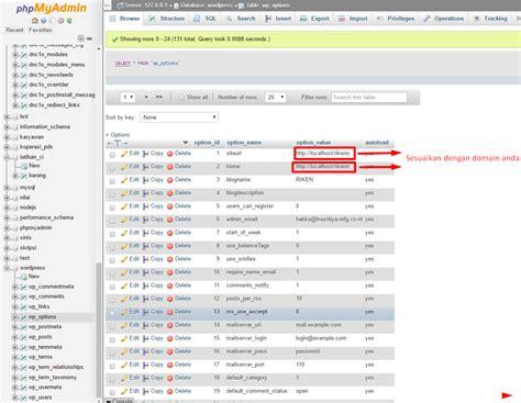 tutorial upload wordpress ke hosting cara upload wordpress dari localhost ke control panel web