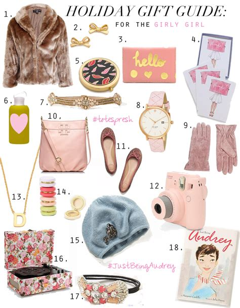 holiday gift guide the girly girl for gifting