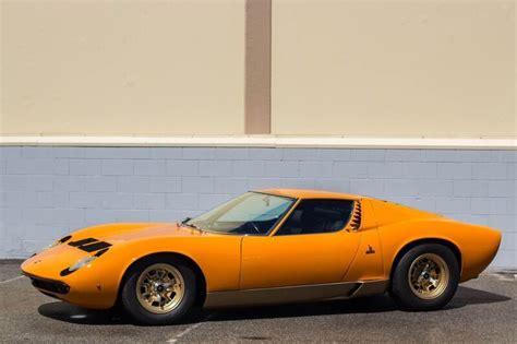1969 Lamborghini Miura P400s For Sale Adam Carolla Is Selling His Lamborghini Collection To Pay
