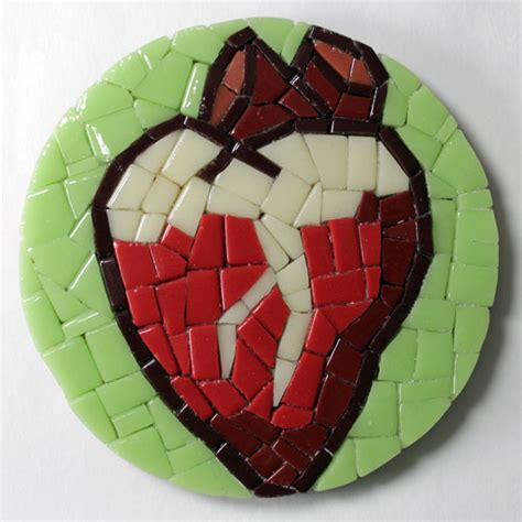 mosaic heart pattern how to make mosaic patterns without drawing how to mosaic