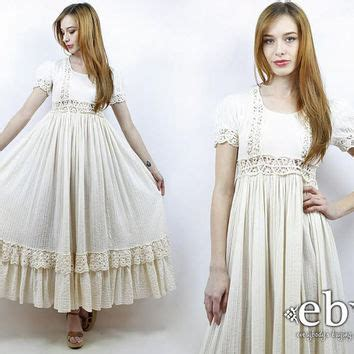 Vintage Hippie Wedding Dresses by Best Vintage Hippie Wedding Dress Products On Wanelo