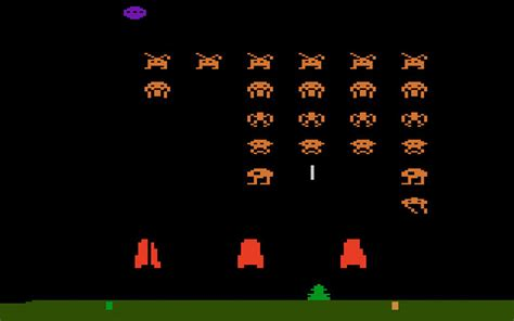 Retro Livingroom by Game Review Atari Space Invaders For Atari 2600
