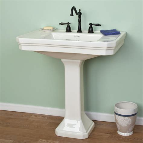 bathroom sink vintage pedestal sink bathroom pedestal