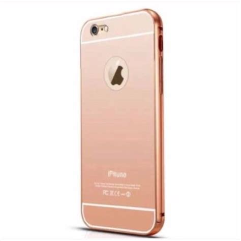 Casing Rosegold Rubber Mirror Iphone X iphone 6 gold mirror boutique iphone 6 cases and the back