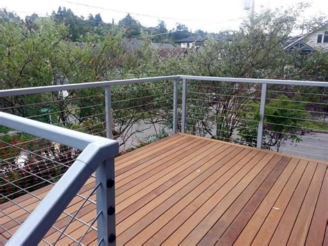 Stainless Steel Deck Railing Stainless Steel Deck Railing Simple Railing Stairs And