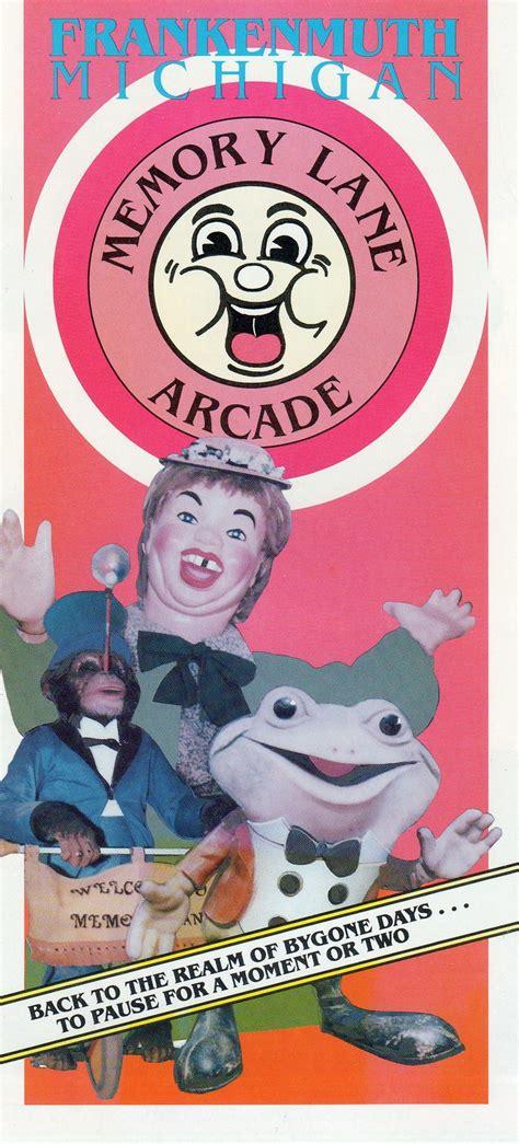 Carousel Bike Froggy Hijau memory arcade brochure laffing sal monkey on a bike froggy the gremlin automaton laffing