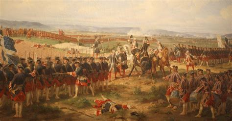 fontenoy my favourite battle painting dressing the lines