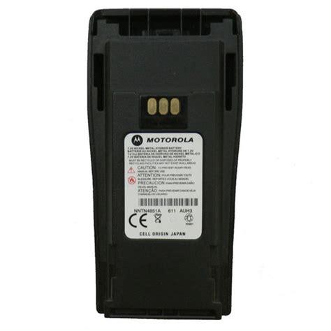 Baterai Walkie Talkie Motorola Battery motorola nntn4851 pmnn4251 nimh battery pack for motorola cp040 two way walkie talkie radios