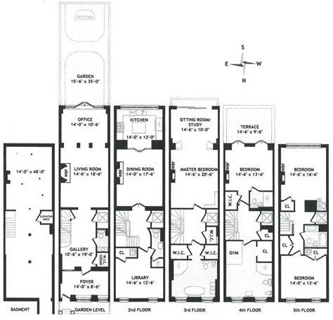townhouses floor plans 17 best images about townhouse floor plans on pinterest