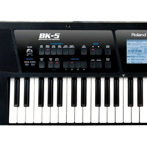 Tas Keyboard Roland Bk 5 jual roland bk5 backing keyboard