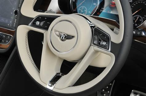 bentley steering wheel at bentley bentayga diesel interior autocar