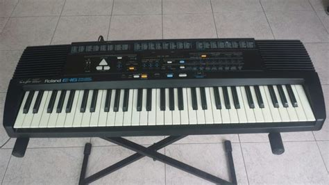 Keyboard Roland E 16 Second roland e 16 intelligent synthesizer keyboard catawiki