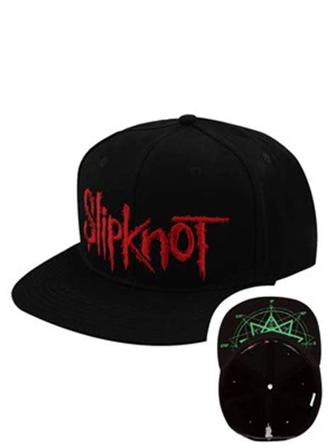 Topi Snapback Logo Avenged slipknot logo flat brim snapback cap buy at grindstore