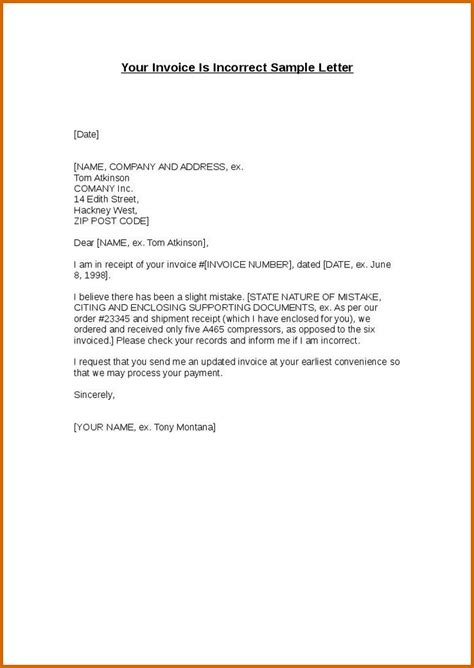 sle invoice letter 11 how to write an invoice letter lease template