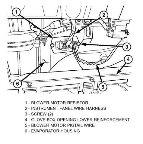 replace blower motor resistor 2003 dodge durango 2001 dodge durango blower motor resistor location 2001 free engine image for user manual