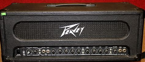peavey supreme peavey supreme guitar lifier 100 watts reverb