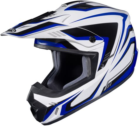 blue motocross 89 99 hjc cs mx 2 edge motocross mx helmet 994812