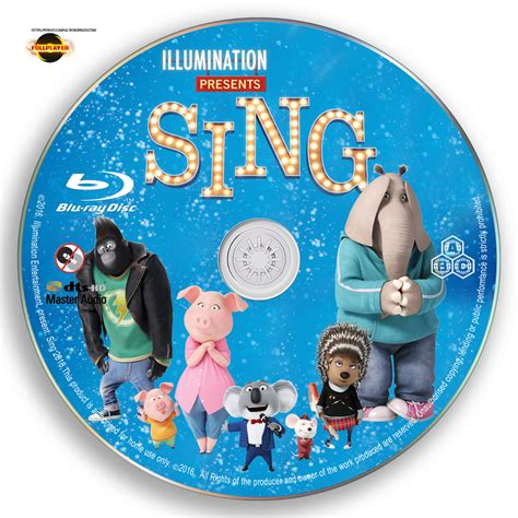 Dvd Sing sing 2016 label cover disc by fullplayer v22 p o w a f u