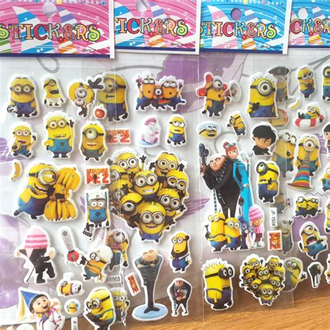 Minions 1 Notebook Decal minions stickers for home wall decor on laptop