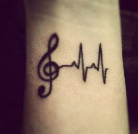 music related tattoo designs 15 cool images pictures and ideas