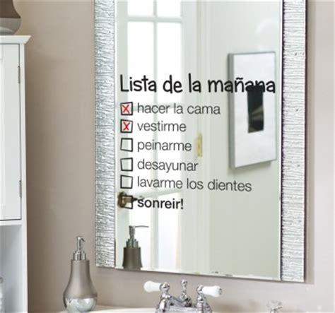 decorar espejos con stickers duscholux ib 201 rica s a maras de ba 209 o a medida los