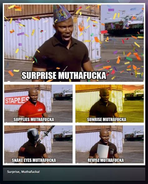 Doakes Meme - james doakes surprise motherfucker dexter meme funny